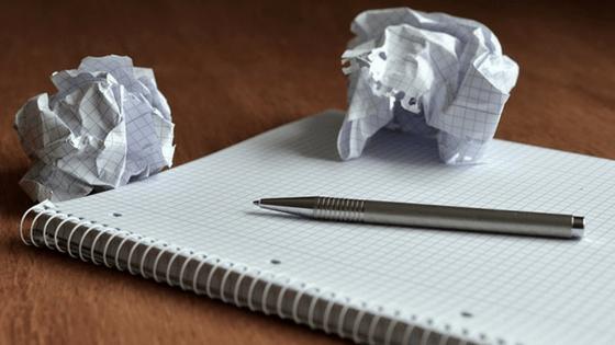 writer's block - keep writing