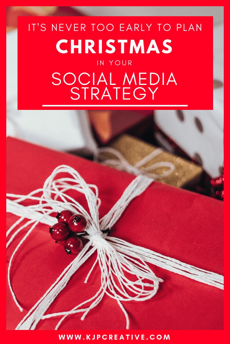 It's never too early to plan your festive online marketing campaigns.