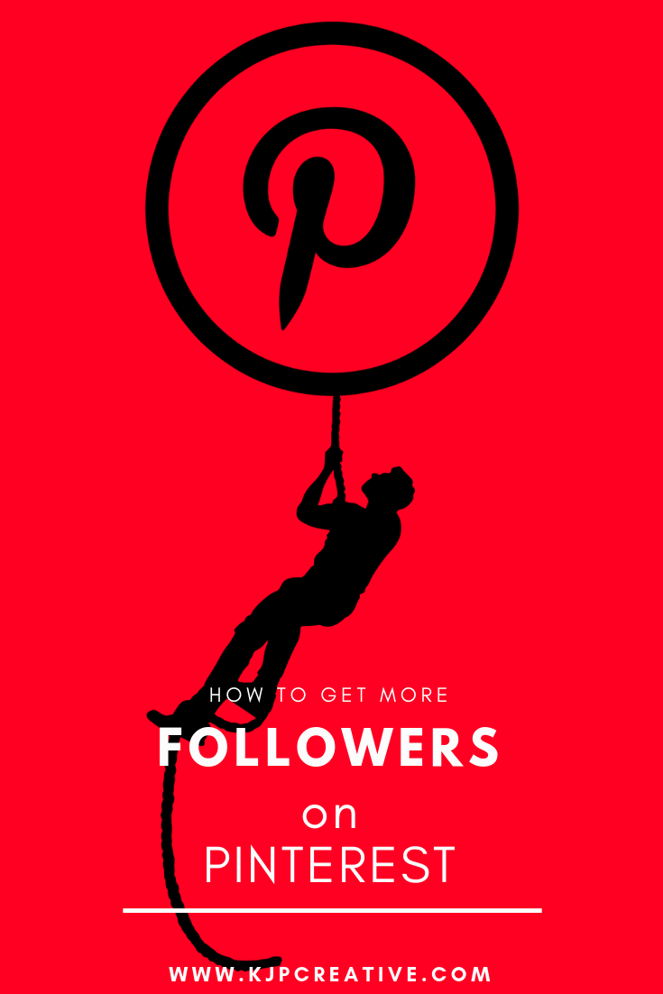 Looking for more followers on Pinterest? Are you wanting to get discovered by the many thousands of people are using Pinterest every day to search for their next product buy? KJP Creative can help!