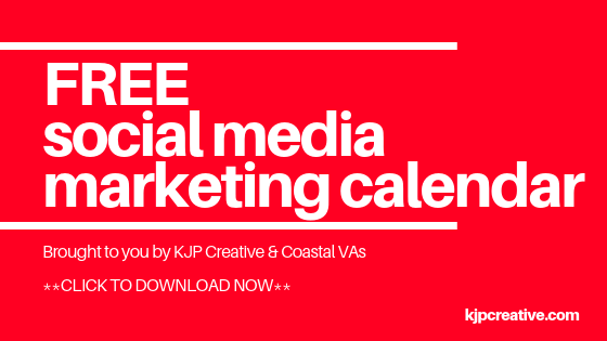 Download your own social media marketing calendar for 2019. Get organised!