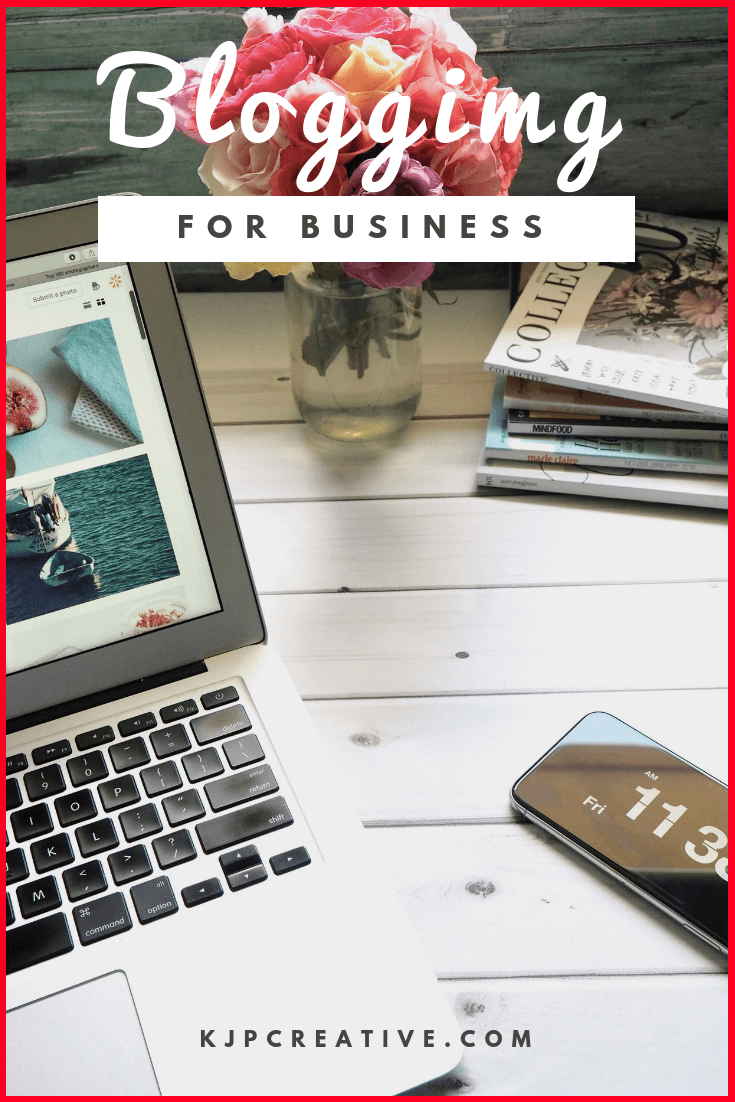 Are you blogging for business? If you're not, you should be! See business growth by tapping into your blog