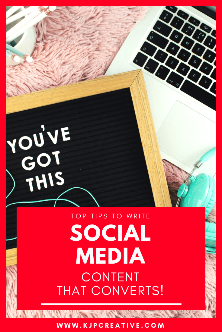 Do you want to write great social media contents that works? Here's our top tips - sales copy that works!