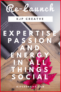 KJP Creative launches their new website - offering expertise, passion and energy in all things social. Get in touch to find out more!