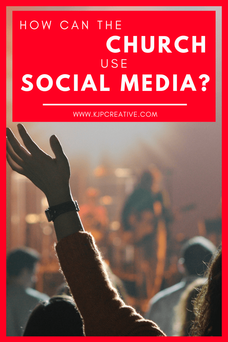 How can a church use social media to engage and reach the community?