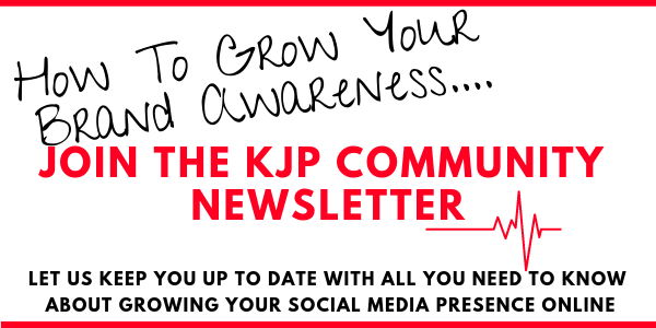 Stay up to date with how to grow your business online and create brand awareness with the KJP Creative community newsletter