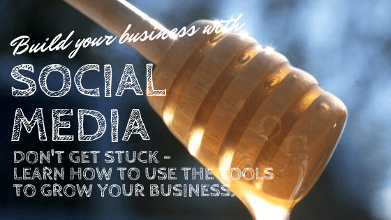 don't get stuck with social media marketing - learn how to use the tools to grow your business. Ask us how!