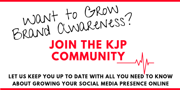Join the KJP Community and learn how to grow your brand awareness and business online using social media marketing