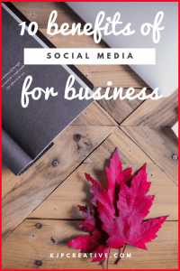Are you using social media for business? Here are our top 10 benefits why you should be