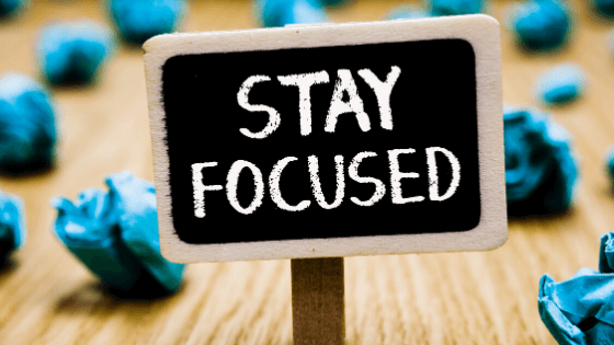 stay focused, be more effective and efficient as a small business owner