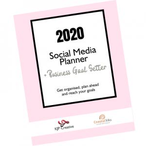 2020 Social Media & Business Planner