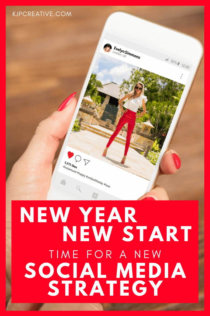 new year, new start for your business social media marketing - create a strategy that will produce results