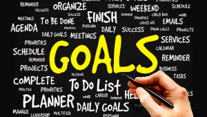 goal setting for a new year and a new strategy plan