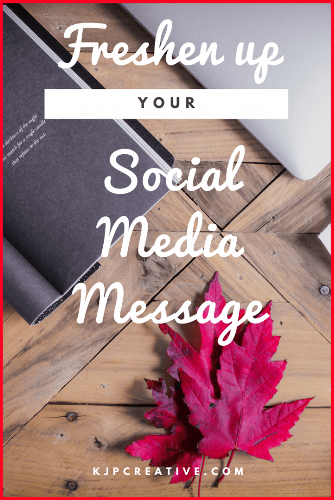 has your social media marketing message gone stale? Here's our top tips on how to freshen up