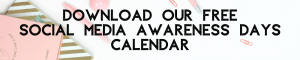 free Awareness Days Calendar / KJP Creative