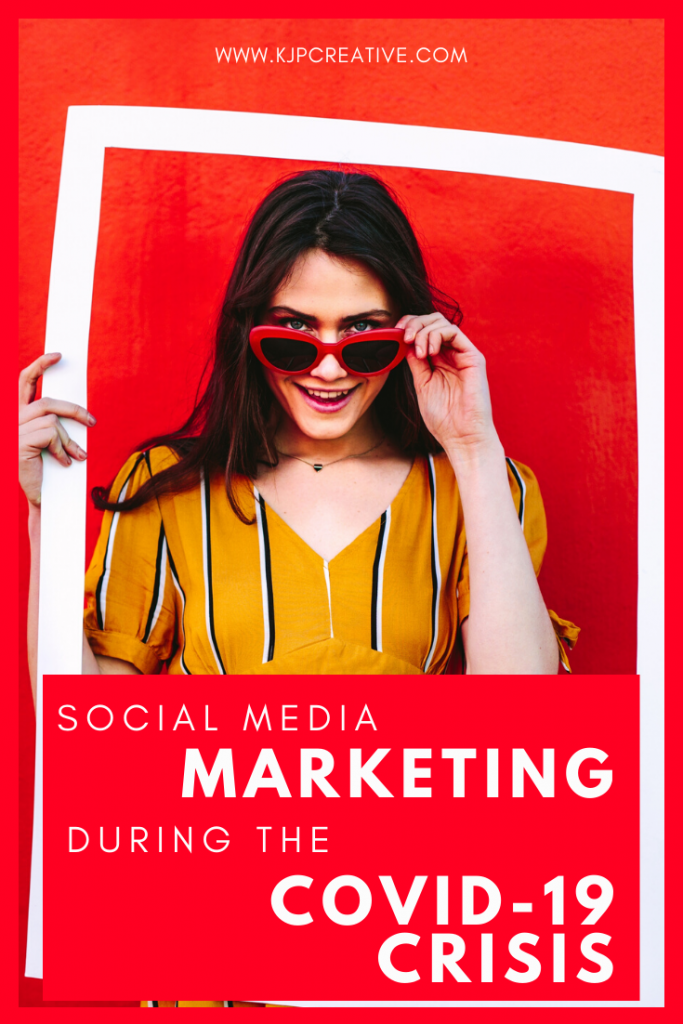 social media marketing during the coronavirus lockdown - small business marketing