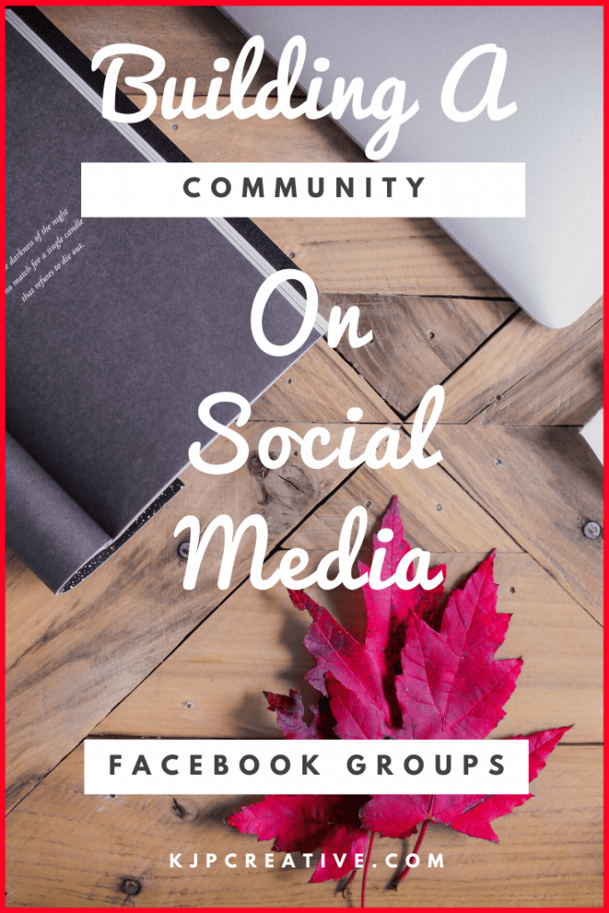 if you're looking to grow your business and build a community on social media, try creating a Facebook Group